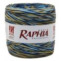 Рафия Италия 200 м Синий + голубой + бежевый