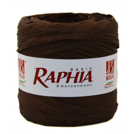Рафия Италия 200m коричневий