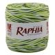 Рафія Італія 200m триколірна Оливка*салат*білий