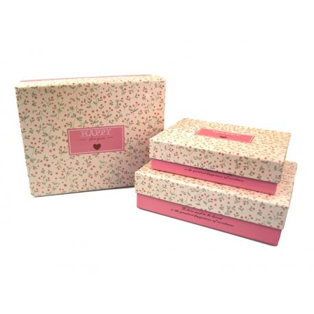 Набір коробок для подарунків з 3 шт C210-32