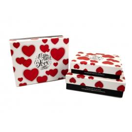 Набір коробок для подарунків з 3 шт C210-39
