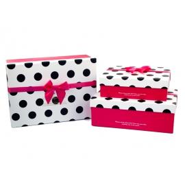Набір коробок для подарунків з 3 шт 91307-9