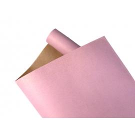 Бумага Мультиколор President 0,7х8м Крафт + Розовый