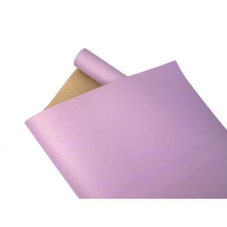 Paper Multicolor President 0,7х8m Kraft + Lilac