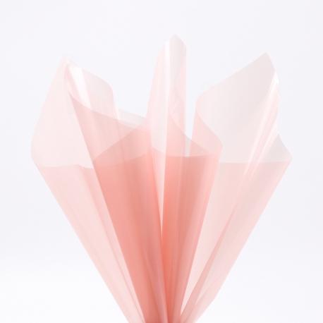 Transparent film in sheets 60x60cm P.XHXL-161 Hot Pink