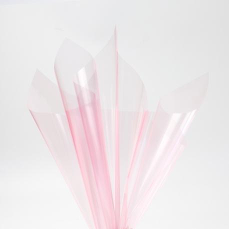 Пленка прозрачная в листах 60х60см P.XHXL-165 Lt Pink