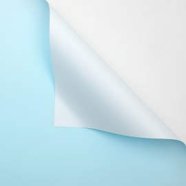 Double-sided film P.OY-3-131 White + Lt Blue