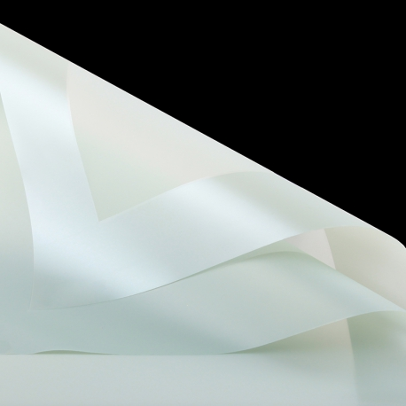 Matte film in sheets P.PPQ border 06 Pastel Green