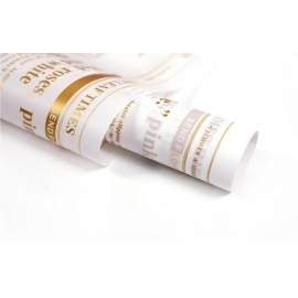 Плівка матова в листах Газета NSZCBZW-3 Золота
