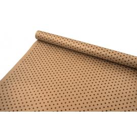 "Kraft paper 0.7x8m ""Peas"" cinnamon"