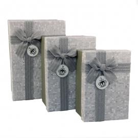 Набір коробок для подарунків з 3 шт G01-54