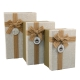 Set of gift boxes with 3 pieces G01-55
