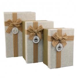 Набір коробок для подарунків з 3 шт G01-55