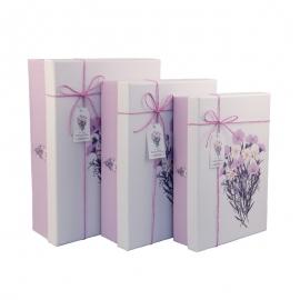 Набір коробок для подарунків з 3 шт 08195-48