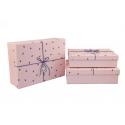 Набір коробок для подарунків з 3 шт 08195-46
