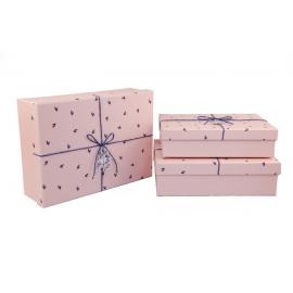 Набор коробок для подарков с 3 шт 08195-46