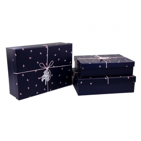 Set of boxes for gifts from 3 pieces 08195-47