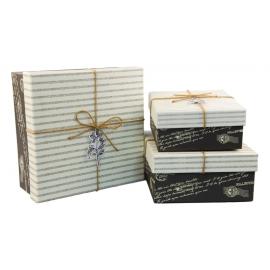 Набор коробок для подарков с 3 шт JKZ-15