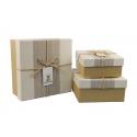 Набор коробок для подарков с 3 шт JKZ-30