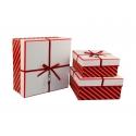 Набор коробок для подарков с 3 шт JKZ-48