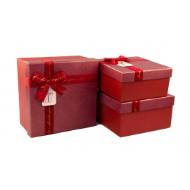 Набор коробок для подарков с 3 шт JKC-1