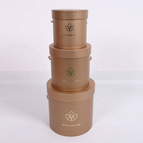 Set of boxes for Lotus flowers 2251-YHB003 Sand