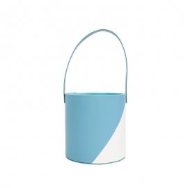 Тубус для цветов под кожу WFL117PZ Голубой