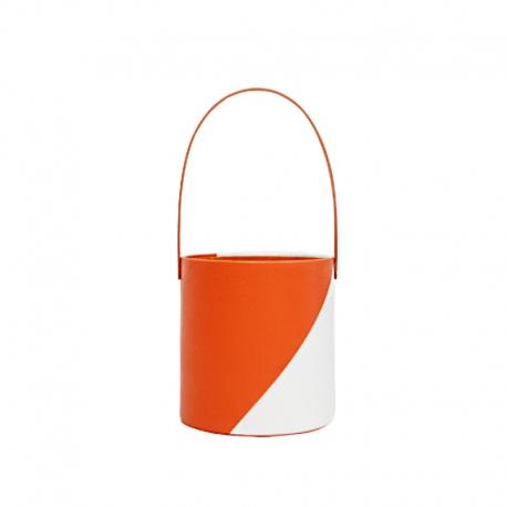 Тубус для цветов под кожу WFL117PZ Оранжевый