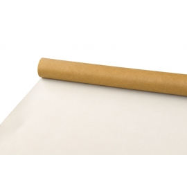 Бумага двусторонняя 0,7 х 10ярд Крафт + Белый 102