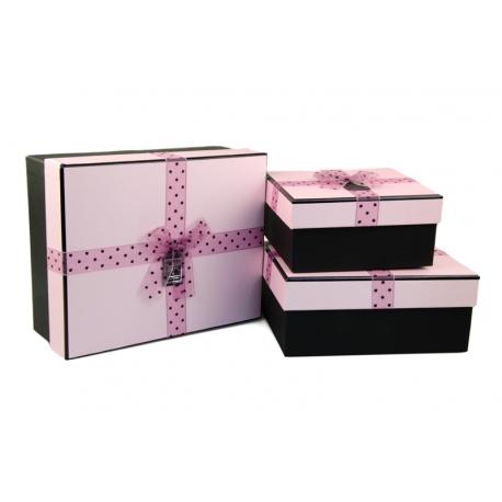 Набір коробок для подарунків з 3 шт 107-44