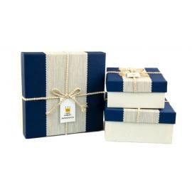 Набір коробок для подарунків з 3 шт JKZ-31