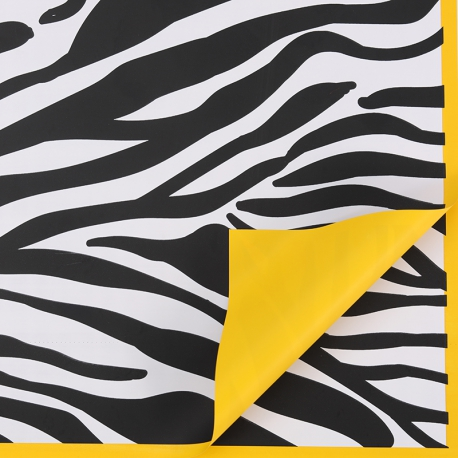 """Matte film in sheets """"Zebra"""" P.CLFZ-052 Orange"""