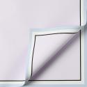 "Плівка матова в листах ""Біла кайма"" P.JYXK-07 Purple Rose"