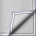 "Matte film in sheets ""White border"" P.JYXK-08 Gray"