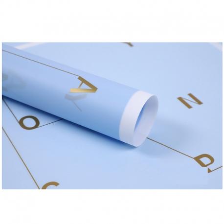 Film in sheets Alphabet XPMESMM-3 Blue