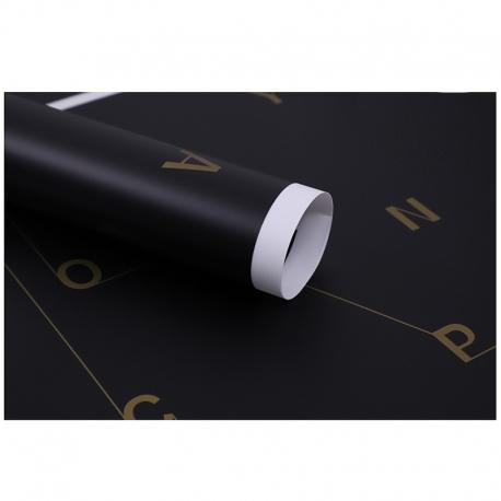 Film in sheets Alphabet XPMESMM-5 Black