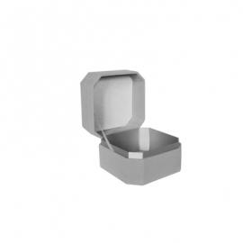 Коробка для прикрас оксамитова WFL037CMR Сіра