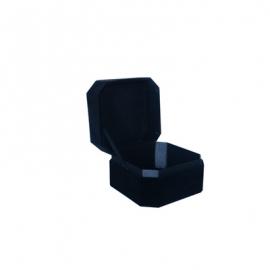 Коробка для прикрас оксамитова WFL037CMR Чорна