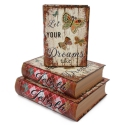 """Set of gift boxes with 3 pcs. Book """"Dream"""" 3013-SY339"""