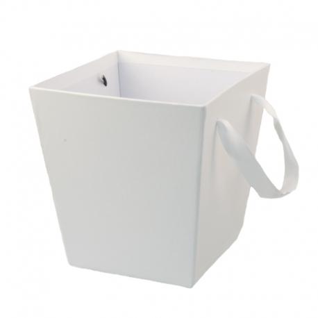 Кашпо для цветов S158-417 Белое