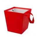 Кашпо для цветов S158-074 Красное