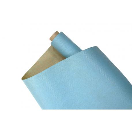 Папір Мультиколор President 0,7х8м Крафт + Блакитний