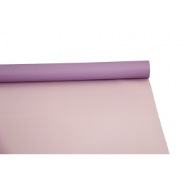 Пленка матовая двусторонняя в рулоне 0,6 х 8м P.OY-031 Light Pink - Lilac