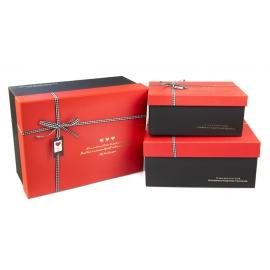 Набір коробок для подарунків з 3 шт B18-2