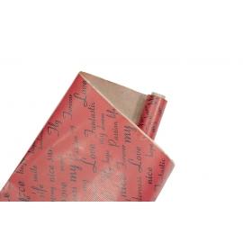 """Бумага-Крафт 0,7 х 8м """"Fantastic"""" Красный"""
