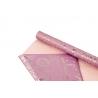 Плівка двостороння металізована в рулоні 0,58 х 5м S.WTB-05 Lt Pink