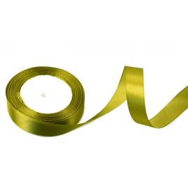 Cтрічка сатинова 2cм х 25ярд Вінтаж-олива 18