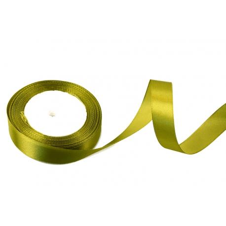 Лента сатиновая 2cм х 25 ярд Винтаж-масло 18