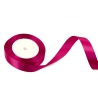Satin ribbon 2cm x 25 yards Fuchsia 190