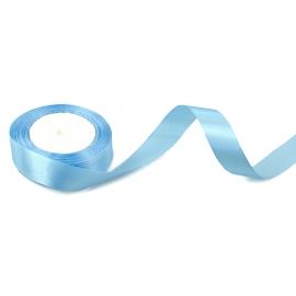 Стрічка сатинова 2,5cм*25ярд Блакитна 70
